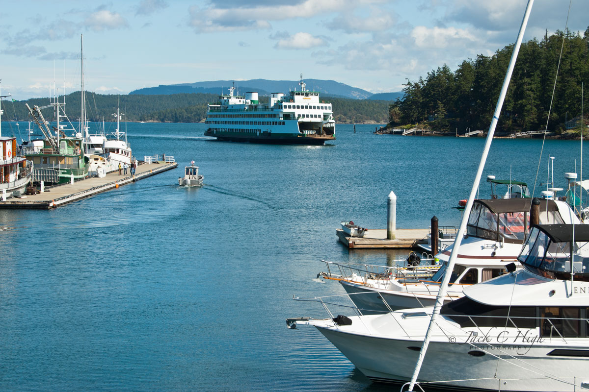 Friday Harbor, San Juan Island,